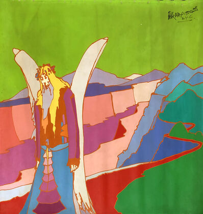 Peter Max, 'Large Original Acrylic Painting on Canvas', 1970