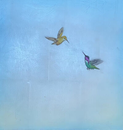 Carolyn Reynolds, 'Duo Over Blue III', 2021