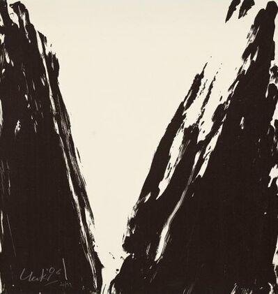 Günther Uecker, 'Hiob Seite 04', Unknown