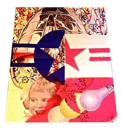 "James Rosenquist, '""F-111"", 1965, Mailer/Poster Announcement, Leo Castelli Gallery NYC', 1965"