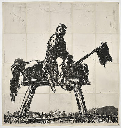 William Kentridge, 'Garibaldi', 2016