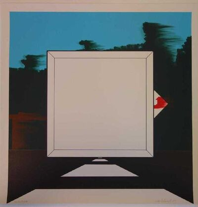 Allan D'Arcangelo, 'Title Unknown', 1966