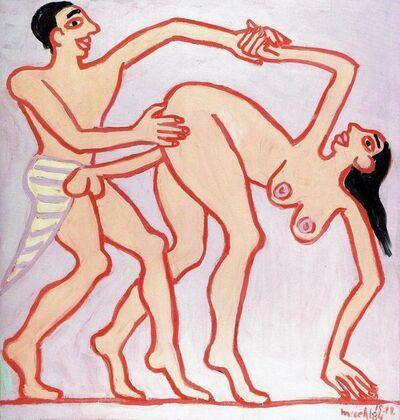 Otto Muehl, 'Ritual Sex (Papyrus 55001)', 1984