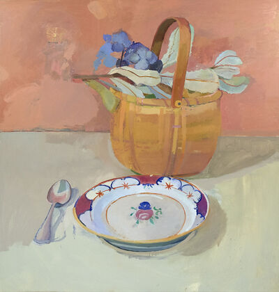 Xico Greenwald, 'Basket with Flowers', 2018-2019