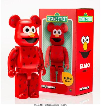 BE@RBRICK X Sesame Street, 'Elmo', 2016