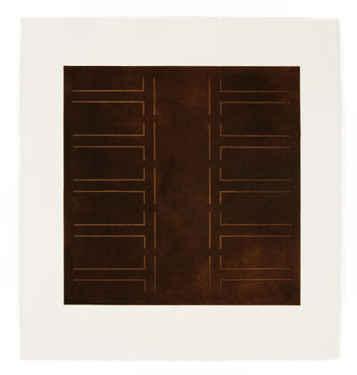 Kim Lim, 'Brown Aquatint', 1972