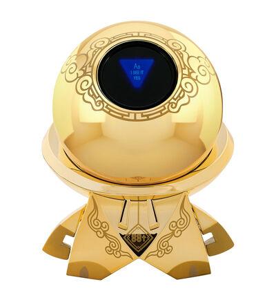 Mattel, ''Figure8' (gold) Magic 8-Ball', 2020