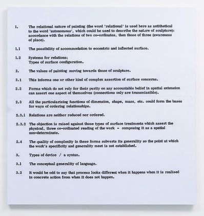 Art & Language, 'Painting I, No. 2', 1966