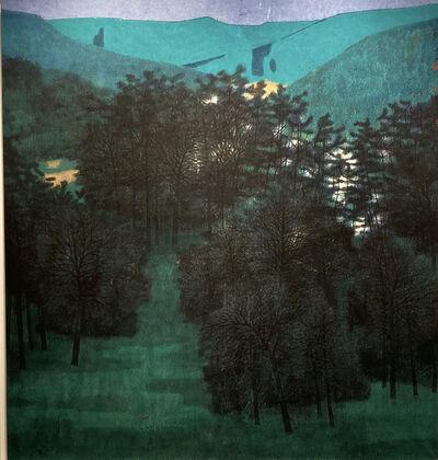 Yun Liu, 'The Green Valley Hidden in the Mist No. 1', 2019