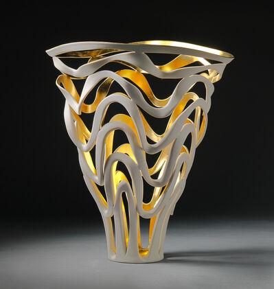 Jennifer McCurdy, 'Gilded Rhythm Vessel ', 2020