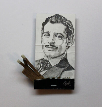 matchbox artists, 'Clark Gable', 2015