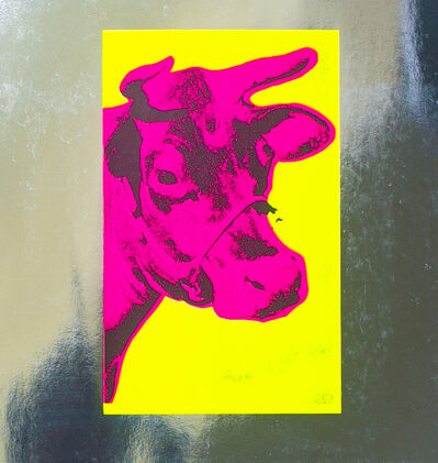 Andy Warhol, 'Pink Cow, by Andy Warhol', 1988