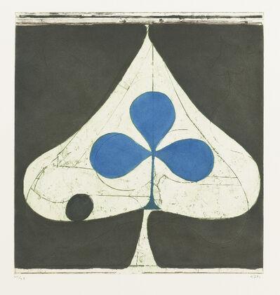 Richard Diebenkorn, 'Blue Club', 1981
