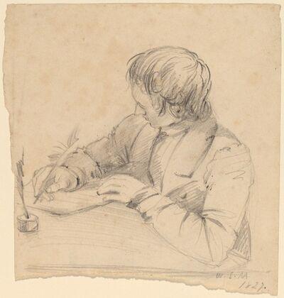William Sidney Mount, 'Shepard Alonzo Mount, Age Twenty-Three [recto]', 1827