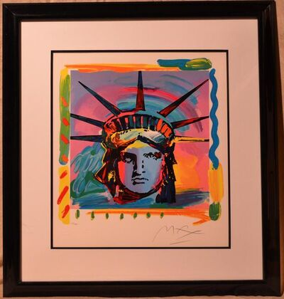Peter Max, 'Liberty Head (The Complete Set of 4 Hand-Signed Color Lithographs) by Peter Max', 1993
