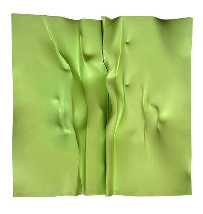 Giò Pomodoro, 'Ghibellina verde - Omaggio ai Nus de dos', 1965