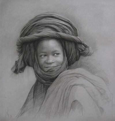 Guillermo Muñoz Vera, 'Young Man from Mali', 2019
