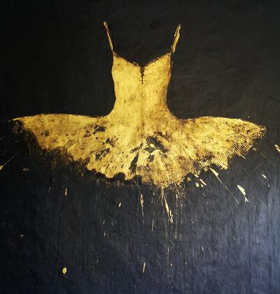 Ewa Bathelier, 'Golden Dress', 2021