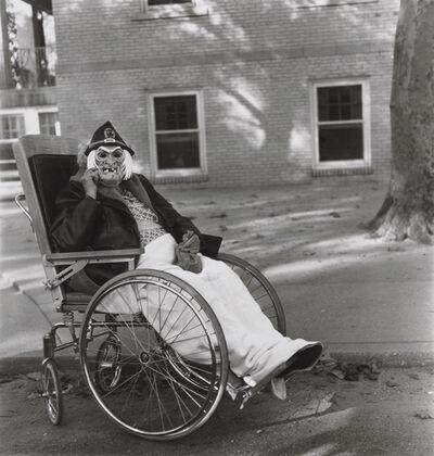 Diane Arbus, 'Masked woman in a wheelchair, Pa.', 1970