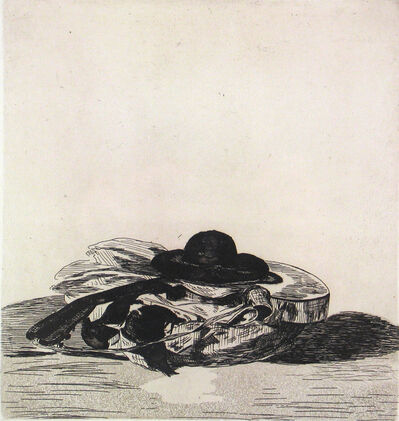 Édouard Manet, 'Hat and Guitar: Frontispispiece', 1862-63