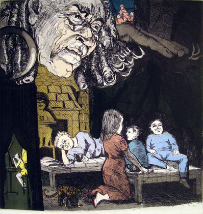 Paula Rego, 'Peter Pan: The House Under Ground', 1992