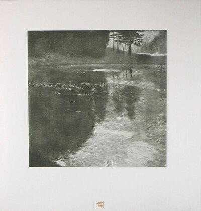 Gustav Klimt, 'STILLER WEIHER Still Pond [Das Werk Gustav Klimts]', 1914