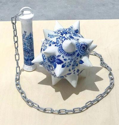 Helena Hauss, 'Delft Blue Morning Star', 2019