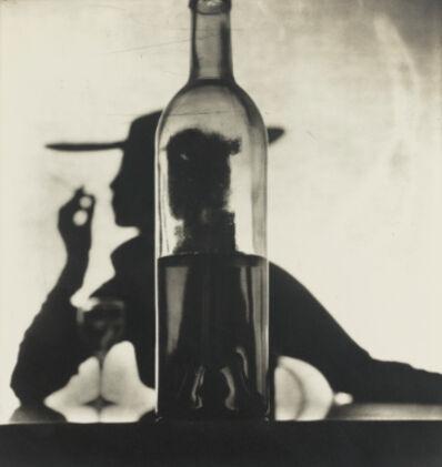 Irving Penn, 'Girl Behind Bottle, New York', 1949