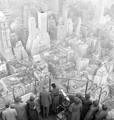 George Rodger, 'View from the Empire State Building', 1949