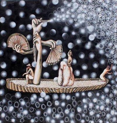 Carlos René Aguilera, 'Esparciendo Astros', 2013