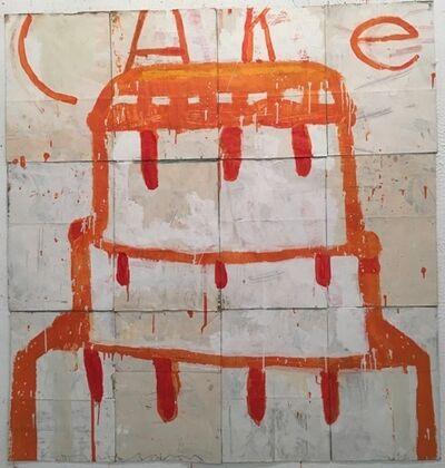 Gary Komarin, 'Orange Cake Stacked', 2015