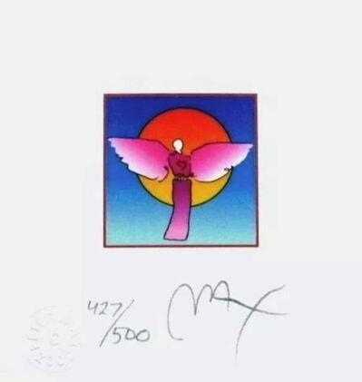 Peter Max, 'Angel with Sun II', 2002
