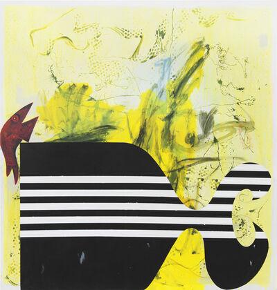 Charline von Heyl, 'Old Fish New Fish', 2016