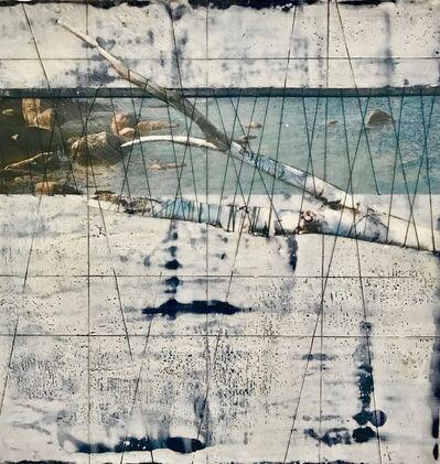 Ava Roth, 'Encaustic Sewing, Lake Branch', 2018