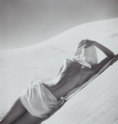 Louise Dahl-Wolfe, 'Nude in Mojave Desert, California', 1948