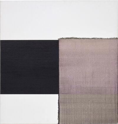 Callum Innes, 'Exposed Painting Intense Black Red Violet', 2002