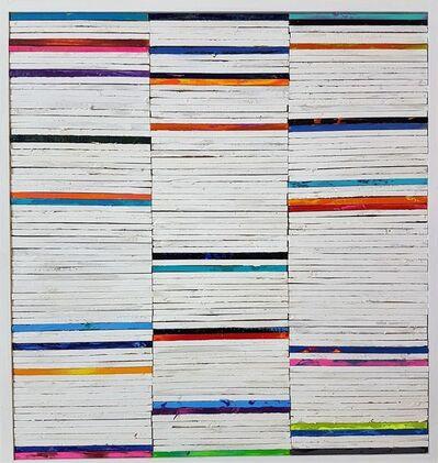 Tim Hahn, 'Lathe Painting #18', 2018