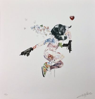 Antony Micallef, 'Uzi Lover 1', 2007