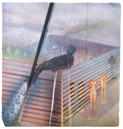 Peterson Kamwathi, 'Projections (Good Fences)', 2018