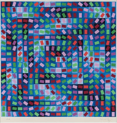 Victor Vasarely, 'Rhythm', c. 1970