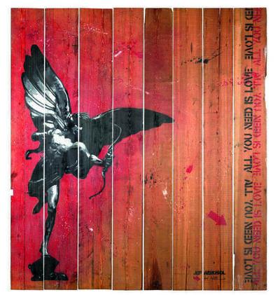 Jef Aérosol, 'Eros', 2008
