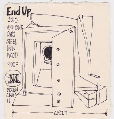 Victoria Behm, 'End Up', 2011