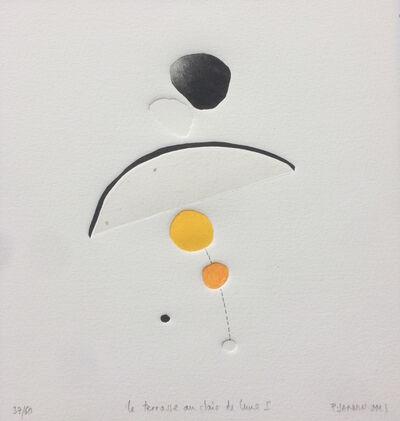 Patrick JANNIN-OMS, 'La Terrasse au clair de lune I - n°37/60'