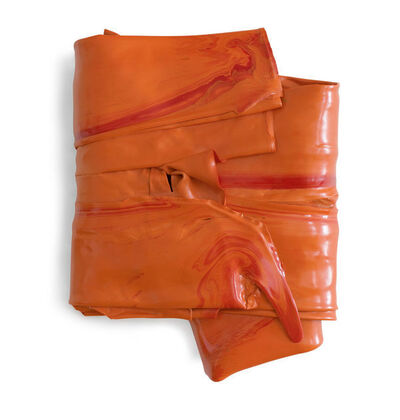 Peter Pumpler, 'Orange Folded', 2013