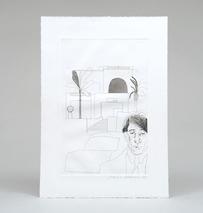 David Hockney, 'Fourteen Poems by C. P. Cavafy Chosen and Illustrated with Twelve Etchings by David Hockney. ', 1967