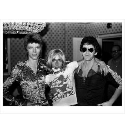 Mick Rock, 'Bowie, Iggy & Lou Reed, London', 1972