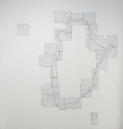 Alberto Gil Cásedas, '51 H 17' 51''. Itineraries of the non-place (II)', 2018
