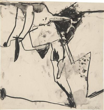 Richard Diebenkorn, 'Untitled (Urbana)', 1952
