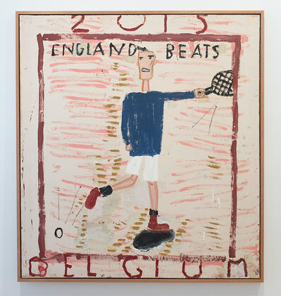 Rose Wylie, 'Andrew Murray', 2015