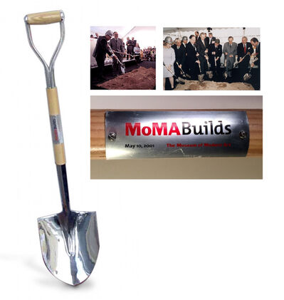 "Andy Warhol, '""MoMA Groundbreaking Shovel"", 2001, ONE of EIGHT, 2001, New Moma, Museum of Modern Art NYC', 2001"